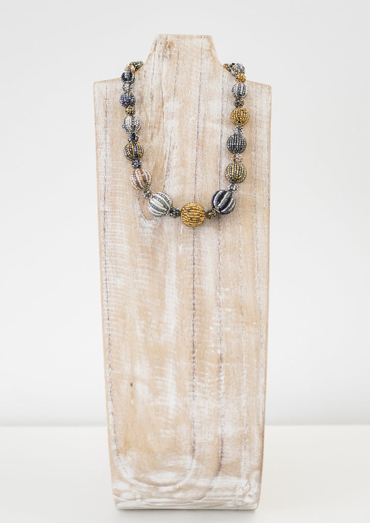 Graduated Sophia Necklace <br> Tinsel