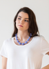 <br>The Waldorf Necklace <br> Periwinkle
