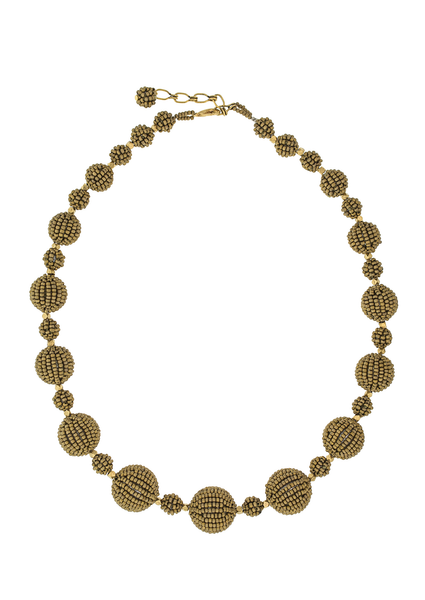 <br>The Waldorf Necklace<br> Saffron