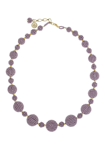 <br>The Waldorf Necklace <br> Mauve