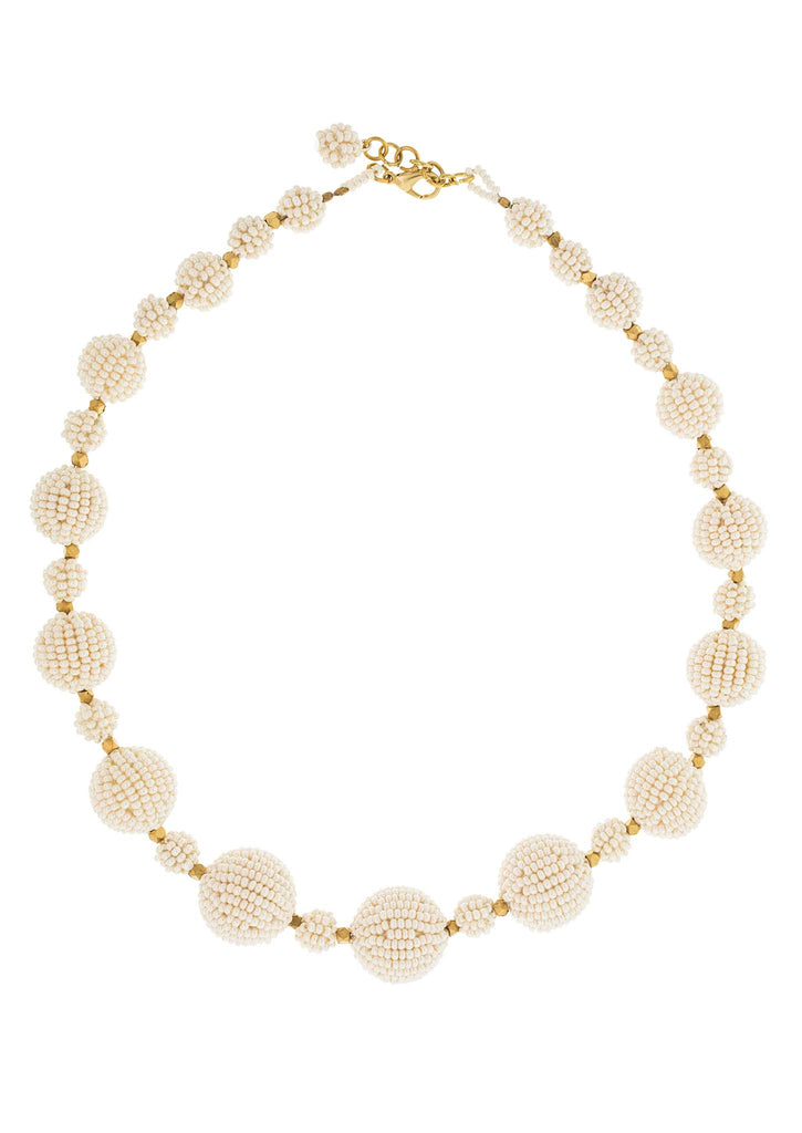 <br>The Waldorf Necklace<br> Cream