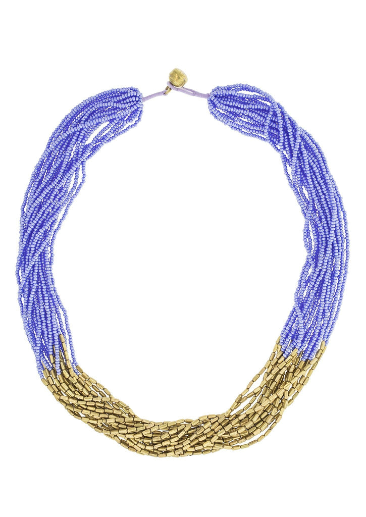 <br>Hema Necklace <br> Periwinkle