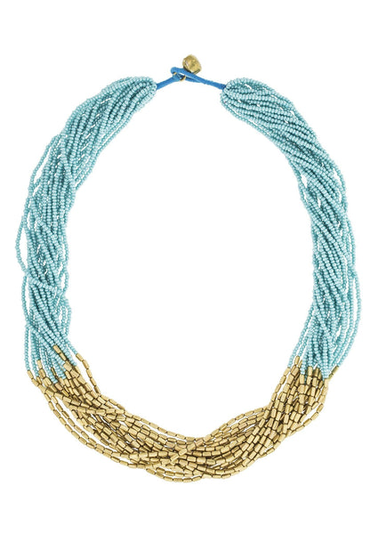 <br>Hema Necklace <br> Turquoise