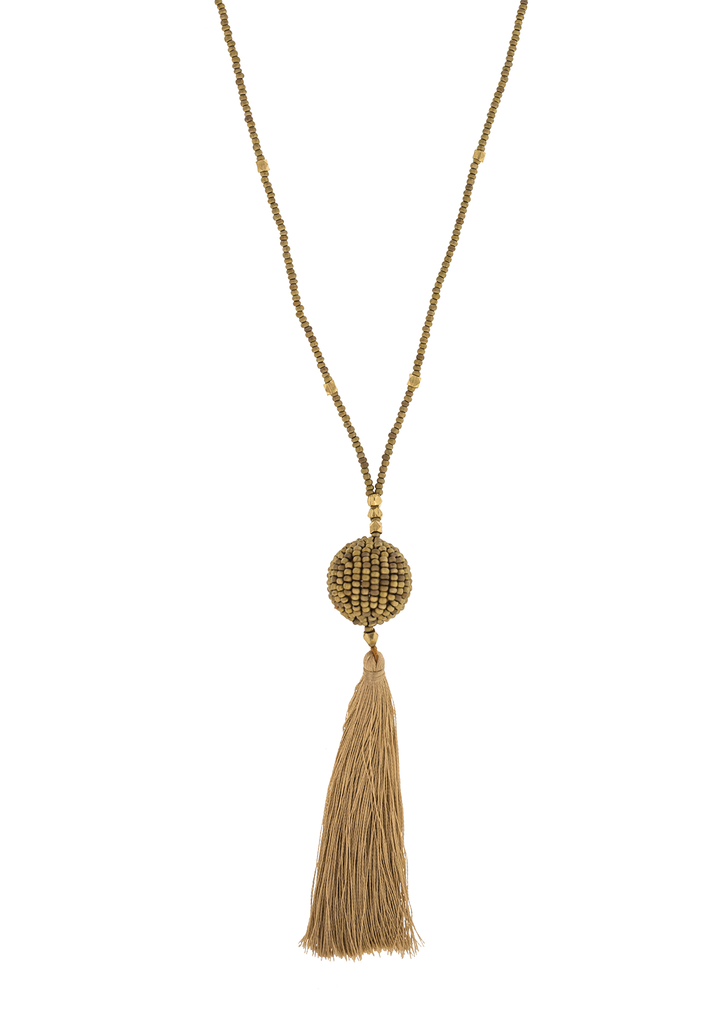 <br> The Wanderer Tassel<br> Saffron
