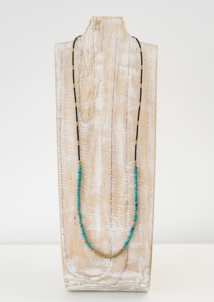 Bela Necklace <br> Turquoise