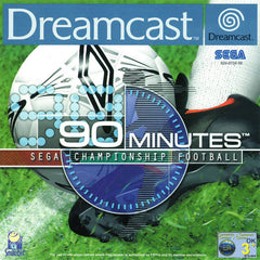 90 Minutes: Sega Championship Football Box Art