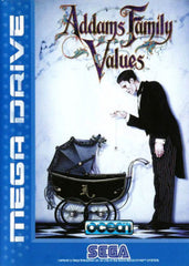 Addams Family Values Box Art