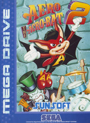 Aero the Acro-Bat 2 Box Art