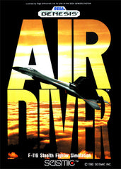 Air Diver Box Art