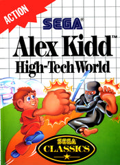 Alex Kidd: High-Tech World Box Art