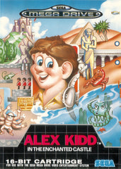 Alex Kidd in the Enchanted Castle Box Art