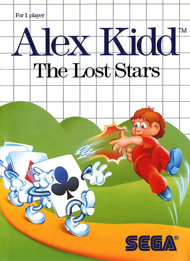 Alex Kidd: The Lost Stars Box Art