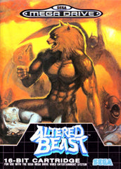 Altered Beast Box Art