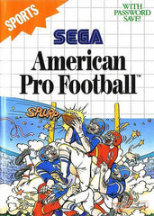 American Pro Football Box Art