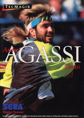 Andre Agassi Tennis Box Art