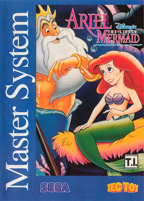 Ariel: The Little Mermaid Box Art