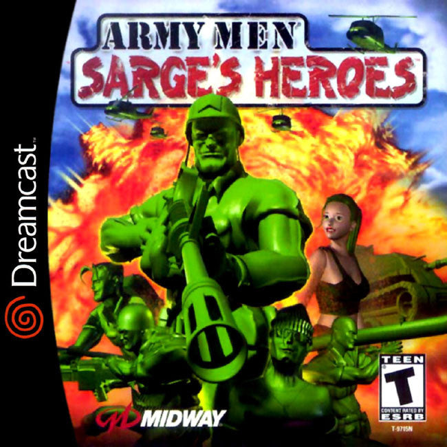Army Men: Sarge's Heroes Box Art
