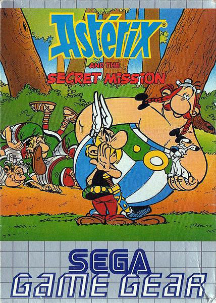 Astérix and the Secret Mission Box Art