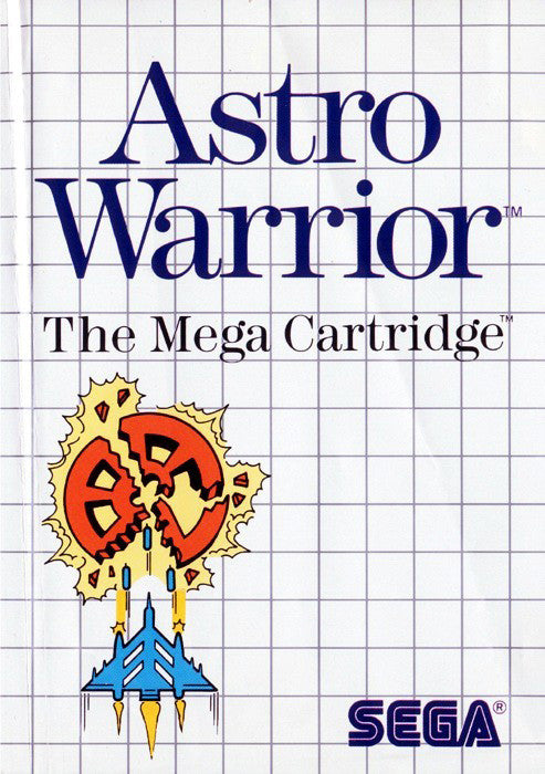 Astro Warrior Box Art