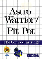 Astro Warrior/Pit Pot Box Art