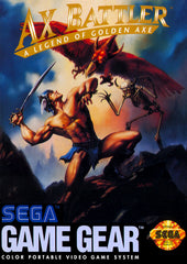 Ax Battler: A Legend of Golden Axe Box Art
