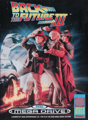 Back to the Future Part III Box Art