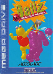 Ballz 3D: The Battle of the Balls Box Art
