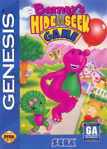 Barney's Hide & Seek Game Box Art