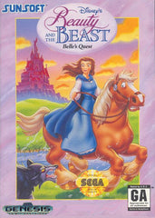 Beauty & The Beast: Belle's Quest Box Art