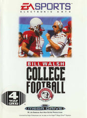 Bill Walsh College Football Box Art