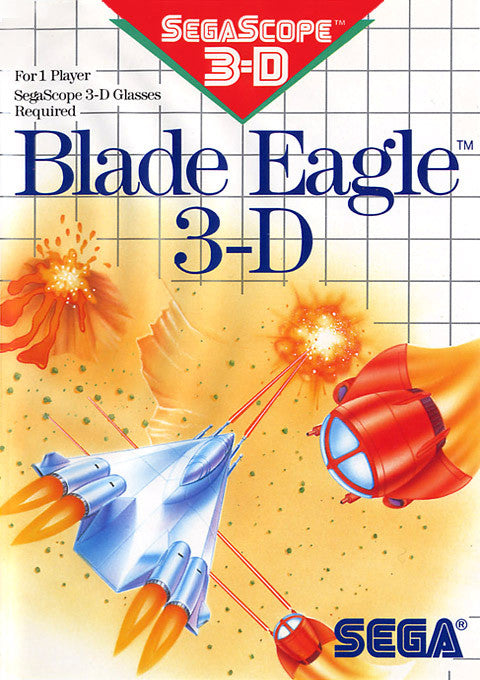 Blade Eagle 3-D Box Art