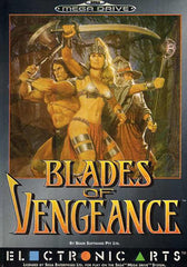 Blades Of Vengeance Box Art