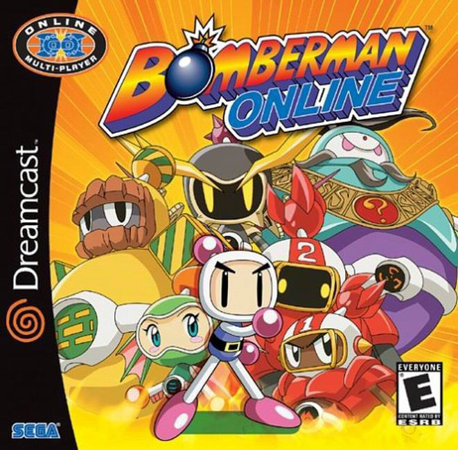Bomberman Online Box Art