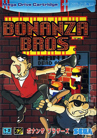 Bonanza Bros. Box Art