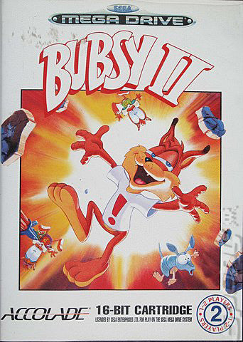 Bubsy 2 Box Art