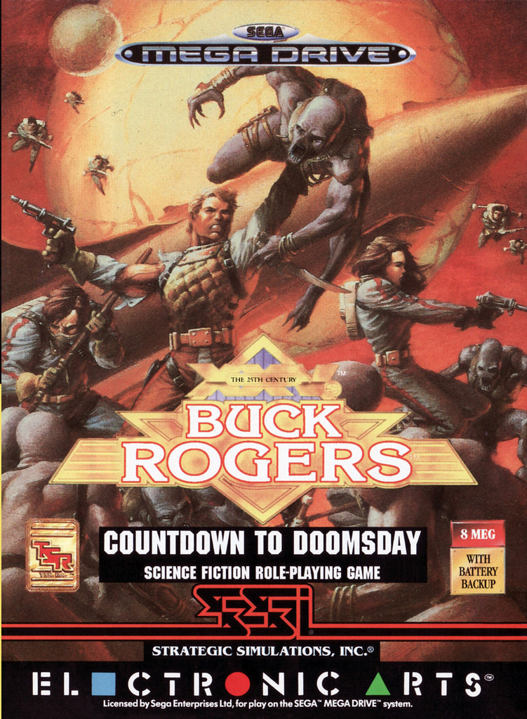 Buck Rogers: Countdown to Doomsday Box Art