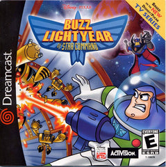 Buzz Lightyear of Star Command Box Art