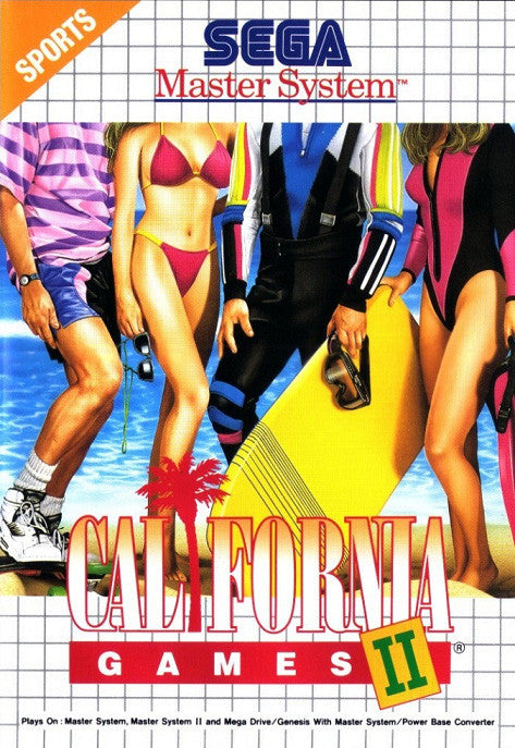 California Games II Box Art