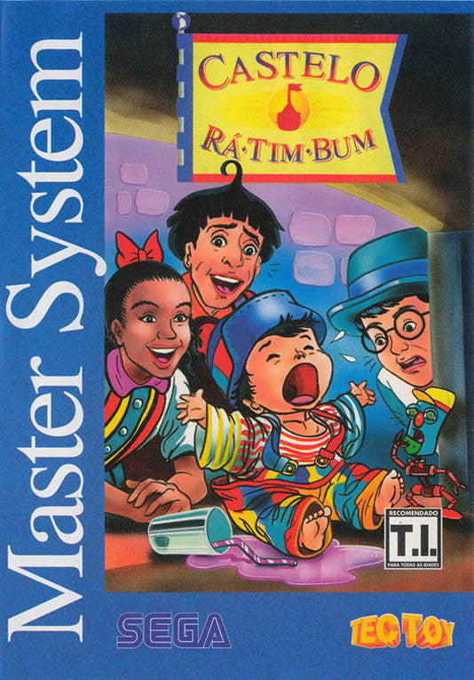 Castelo Ra-Tim-Bum Box Art