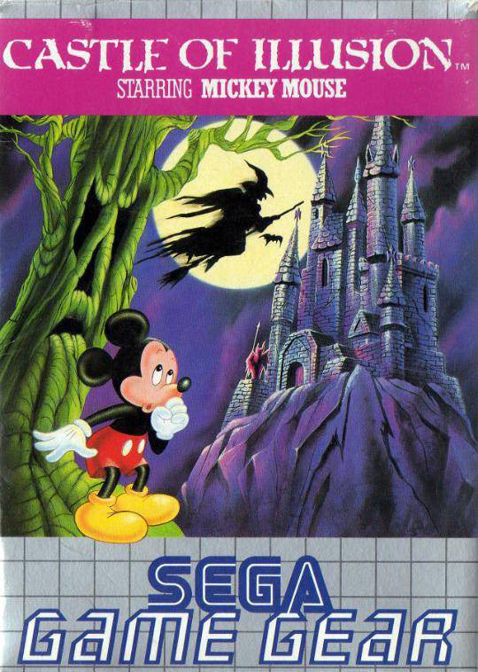 Castle of Illusion Starring Mickey Mouse Box Art