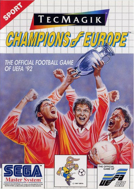 Champions of Europe Box Art