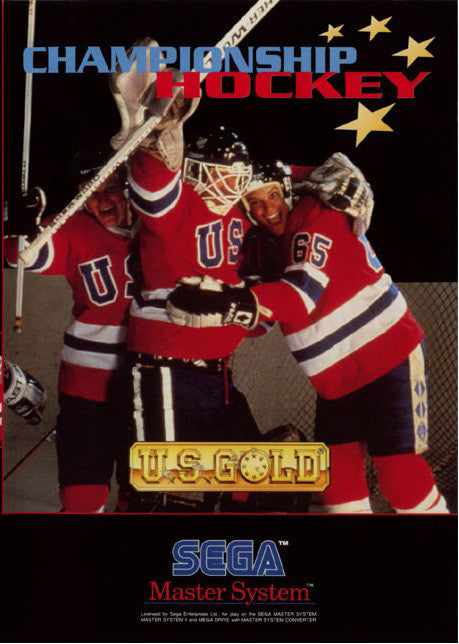 Championship Hockey Box Art