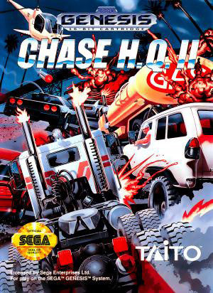 Chase H.Q. II Box Art