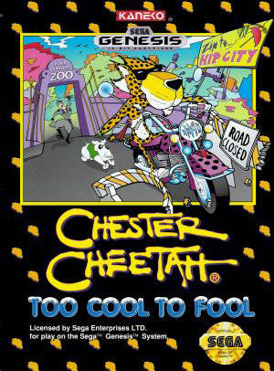 Chester Cheetah: Too Cool to Fool Box Art