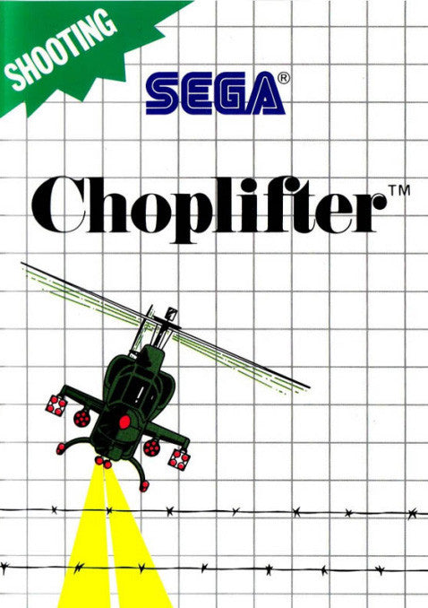 Choplifter Box Art