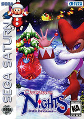 Christmas NiGHTS into Dreams Box Art