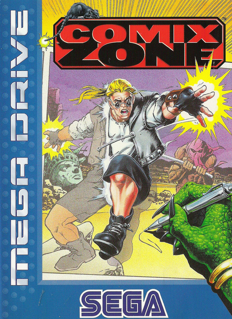 Comix Zone Box Art