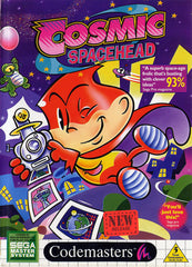 Cosmic Spacehead Box Art