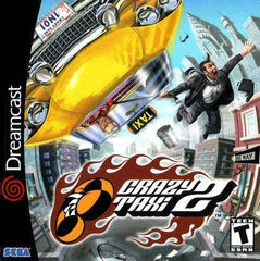 Crazy Taxi 2 Box Art