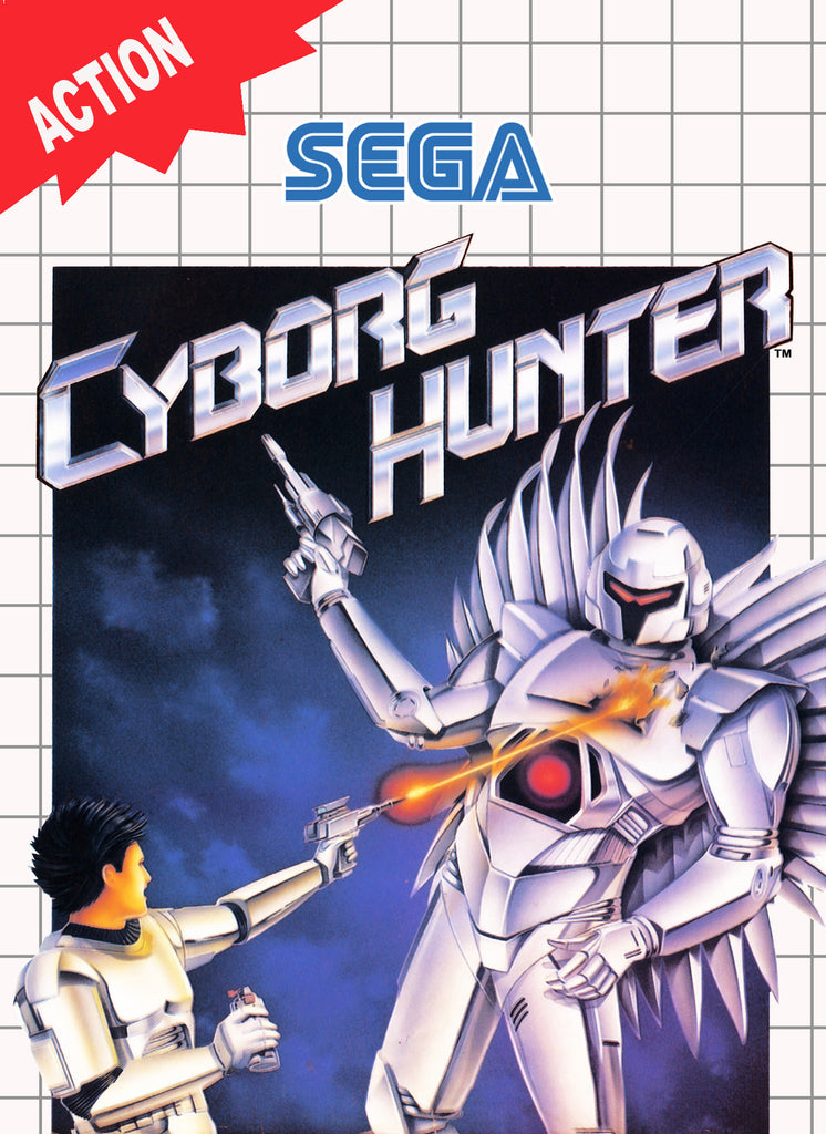 Cyborg Hunter Box Art